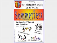 Sommerfest des Dorfvereins