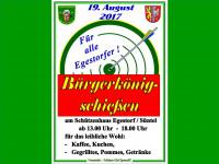 Egestorf sucht den Bürgerkönig/in am 19. August 2017