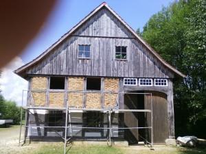 Dorfhaus-Arbeitseinsatz